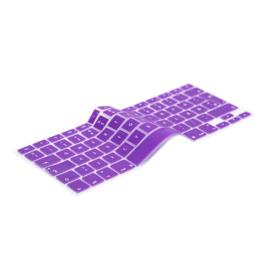 Image of   UK Purple Keyboard Cover