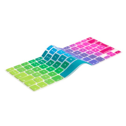 UK Rainbow Keyboard Cover 12″