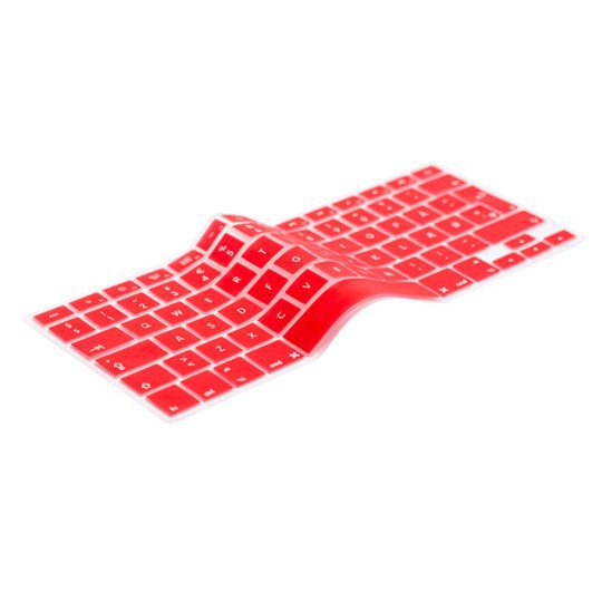 UK Red Keyboard Cover