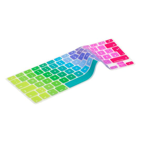 German Rainbow Keyboard Cover
