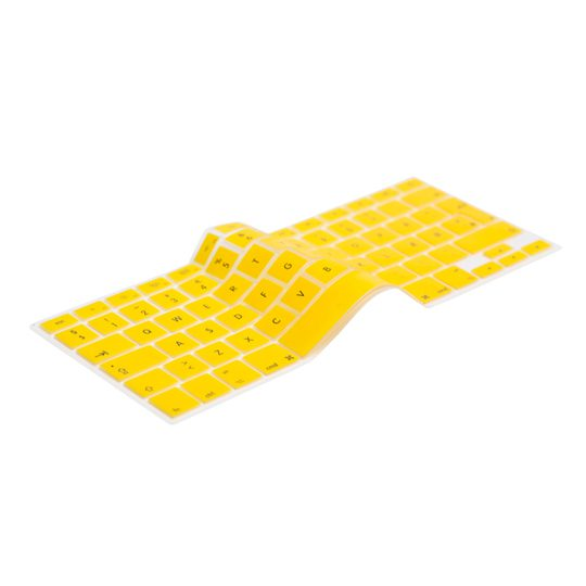 Danish Yellow Keyboard Cover - Dansk Gul Tastatur Cover