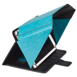 Philbert Turquoise Sunshade and Privacy Cover for tablets. Danish design.