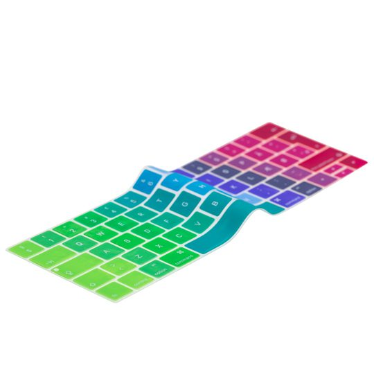 """Image of Danish Rainbow Keyboard Cover MacBook Pro Touch Bar 13"""" / 15"""""""