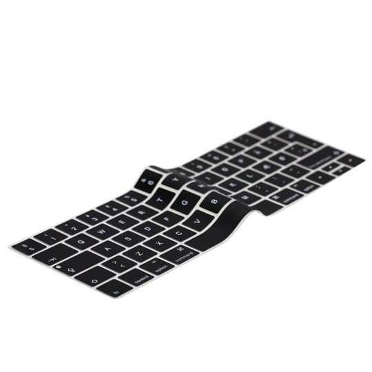 """Image of   Danish Black Keyboard Cover MacBook Pro Touch Bar 13"""" / 15"""""""