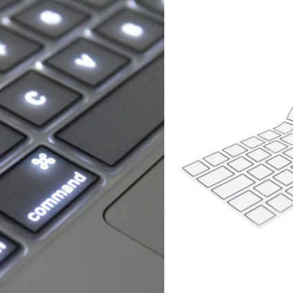 Gennemsigtig tastatur cover