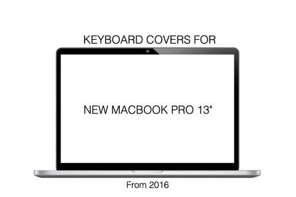 "Tastatur cover - Philbert - FOR NEW MACBOOK PRO 13"""