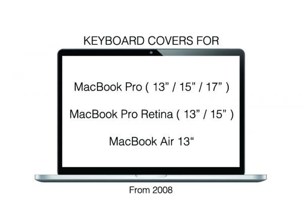 "Tastatur cover, Philbert - MacBook Pro ( 13"" - 15"" - 17"" ) MacBook Pro Retina ( 13"" - 15″ ) MacBook Air 13″"