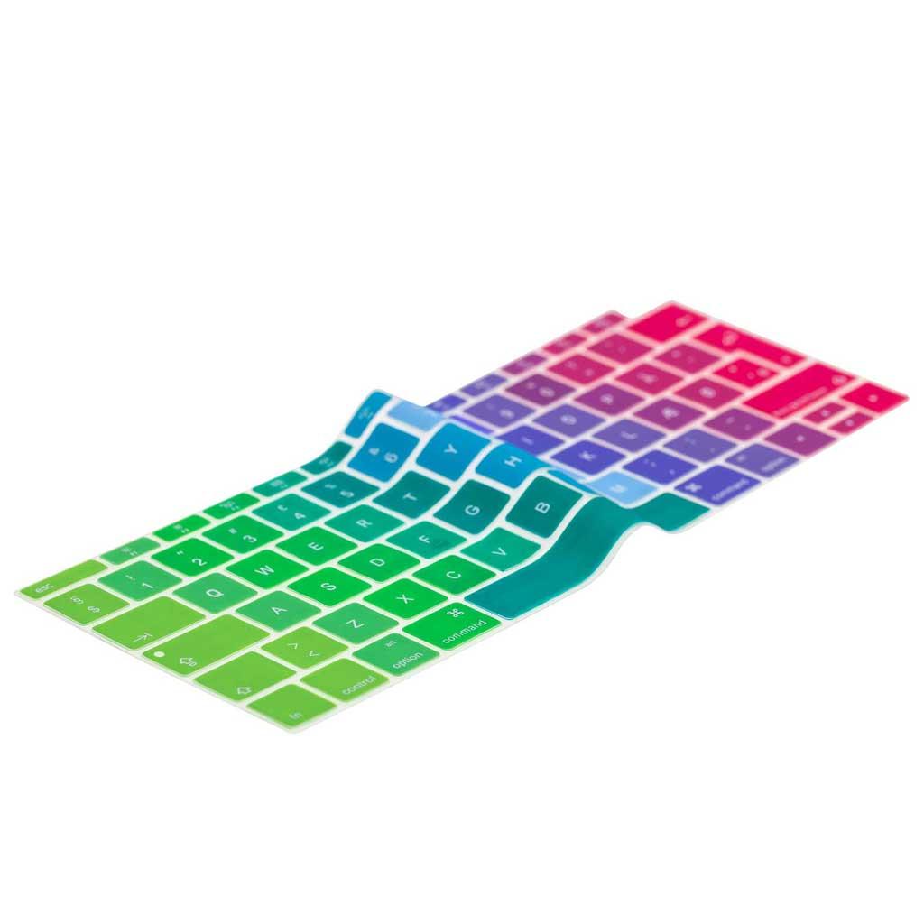 "Image of Danish Rainbow Keyboard Cover MacBook Air 13"""