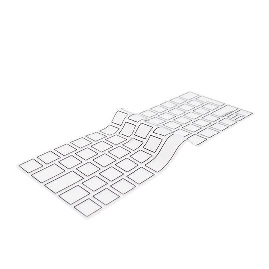 """Image of   EU Transparent/Black Keyboard Cover - MacBook Pro Touch Bar 13"""" and 15"""""""