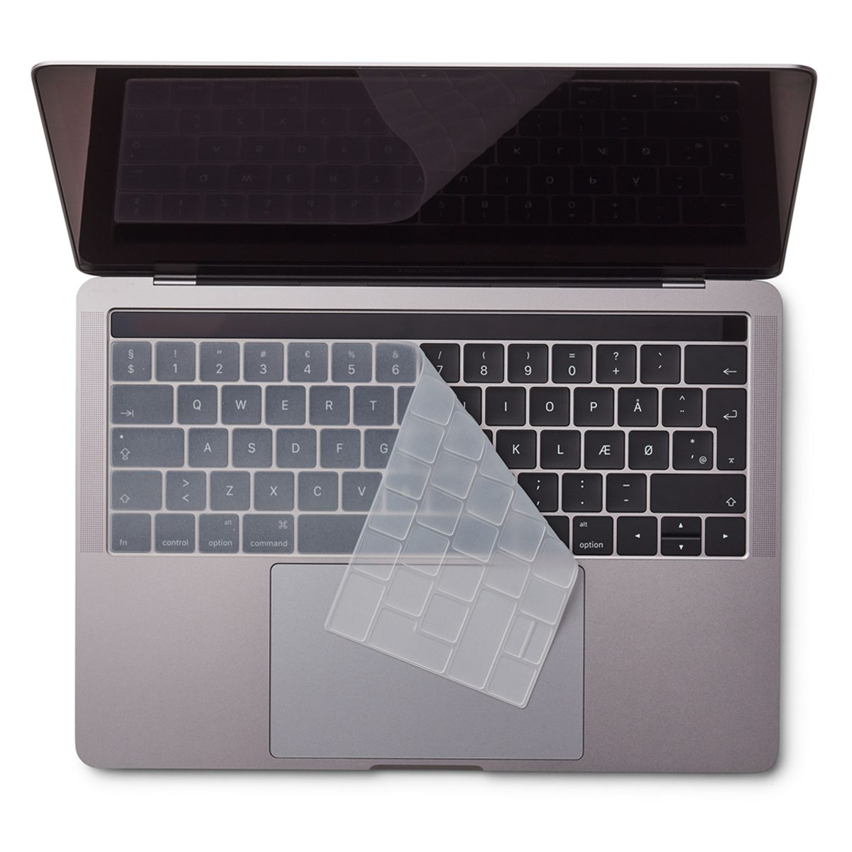 "Image of   EU Transparent Keyboard Cover - MacBook Pro Touch Bar 13"" and 15"""