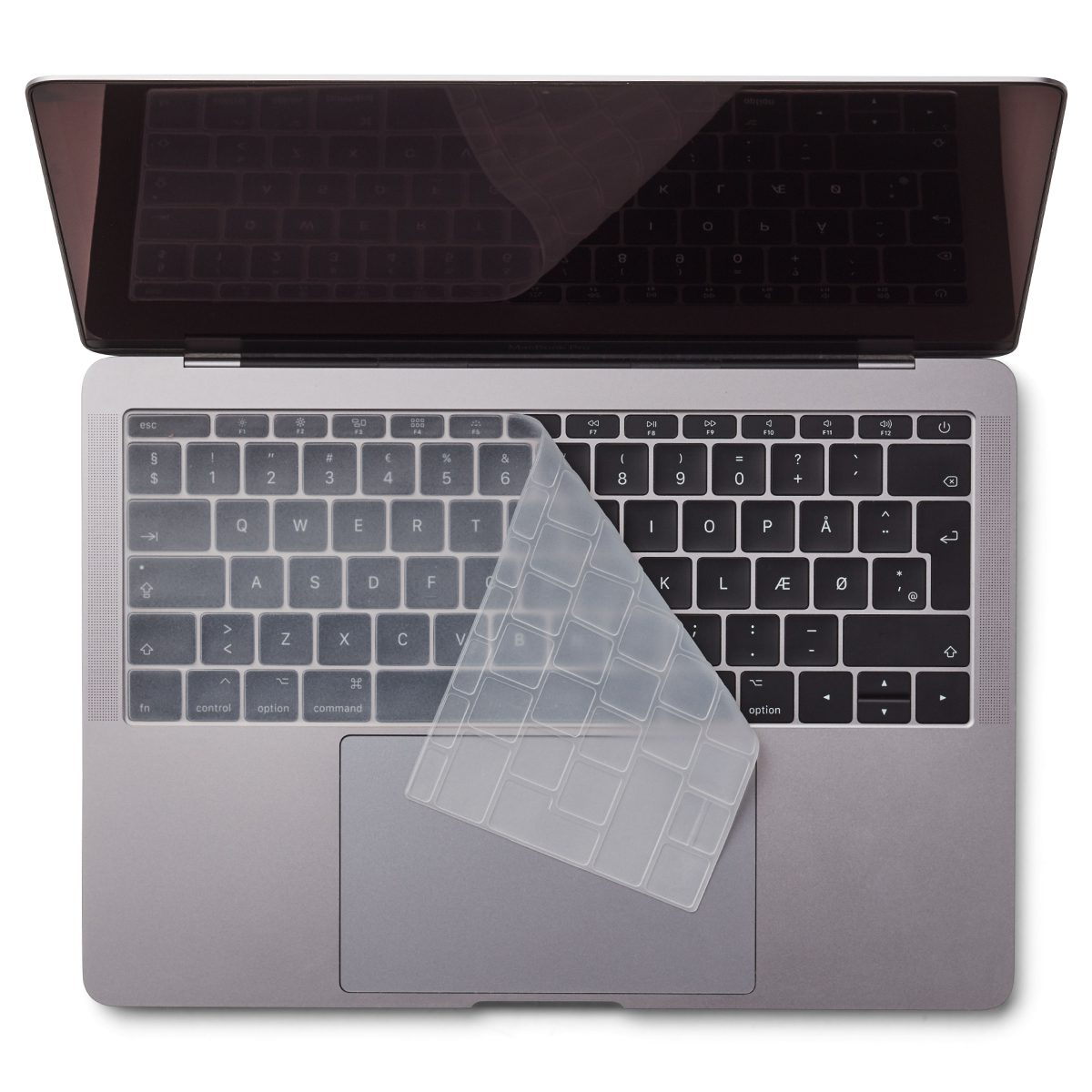 "Image of   EU Transparent Keyboard Cover - MacBook Pro 13"" and MacBook 12"""