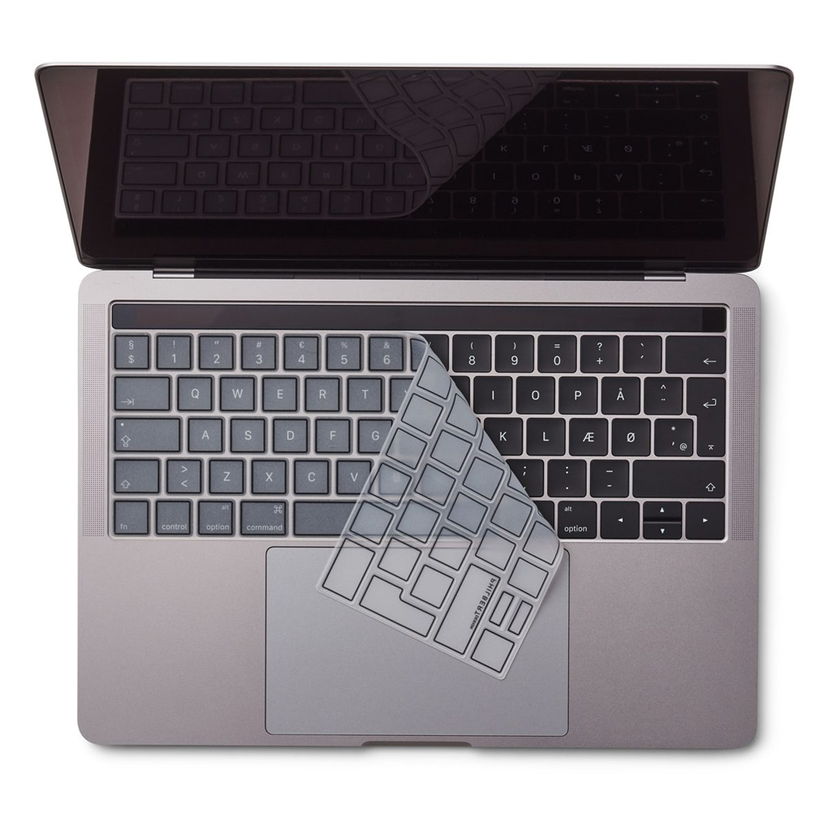 "Image of   EU Transparent/Black Keyboard Cover - MacBook Pro Touch Bar 13"" and 15"""