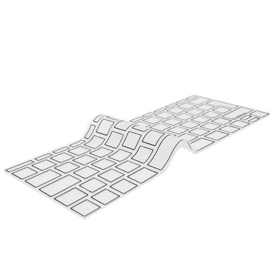 "Image of EU Transparent/Black Keyboard Cover - MacBook Pro 13"" and MacBook 12"""