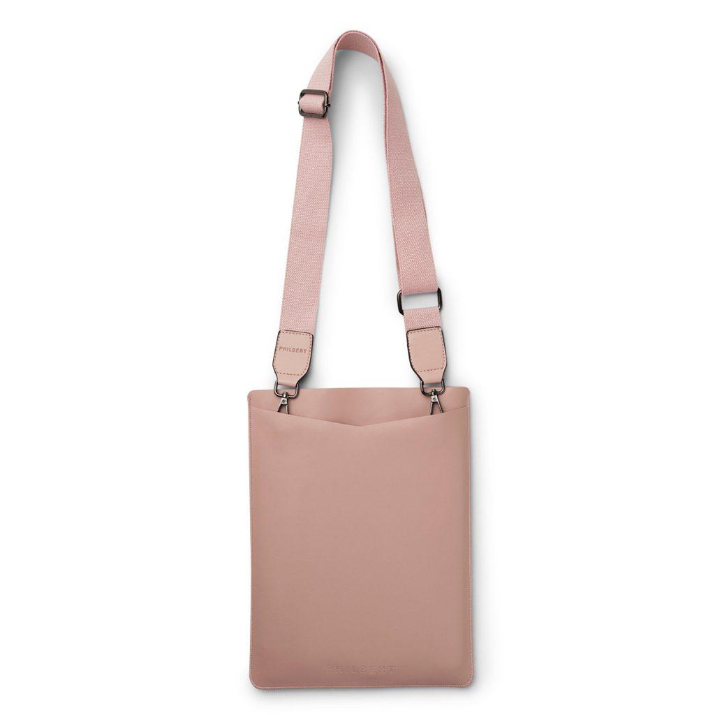 Rosa-Sleeve-with-Strap,-vegan-leather,- vegansk læder, Philbert