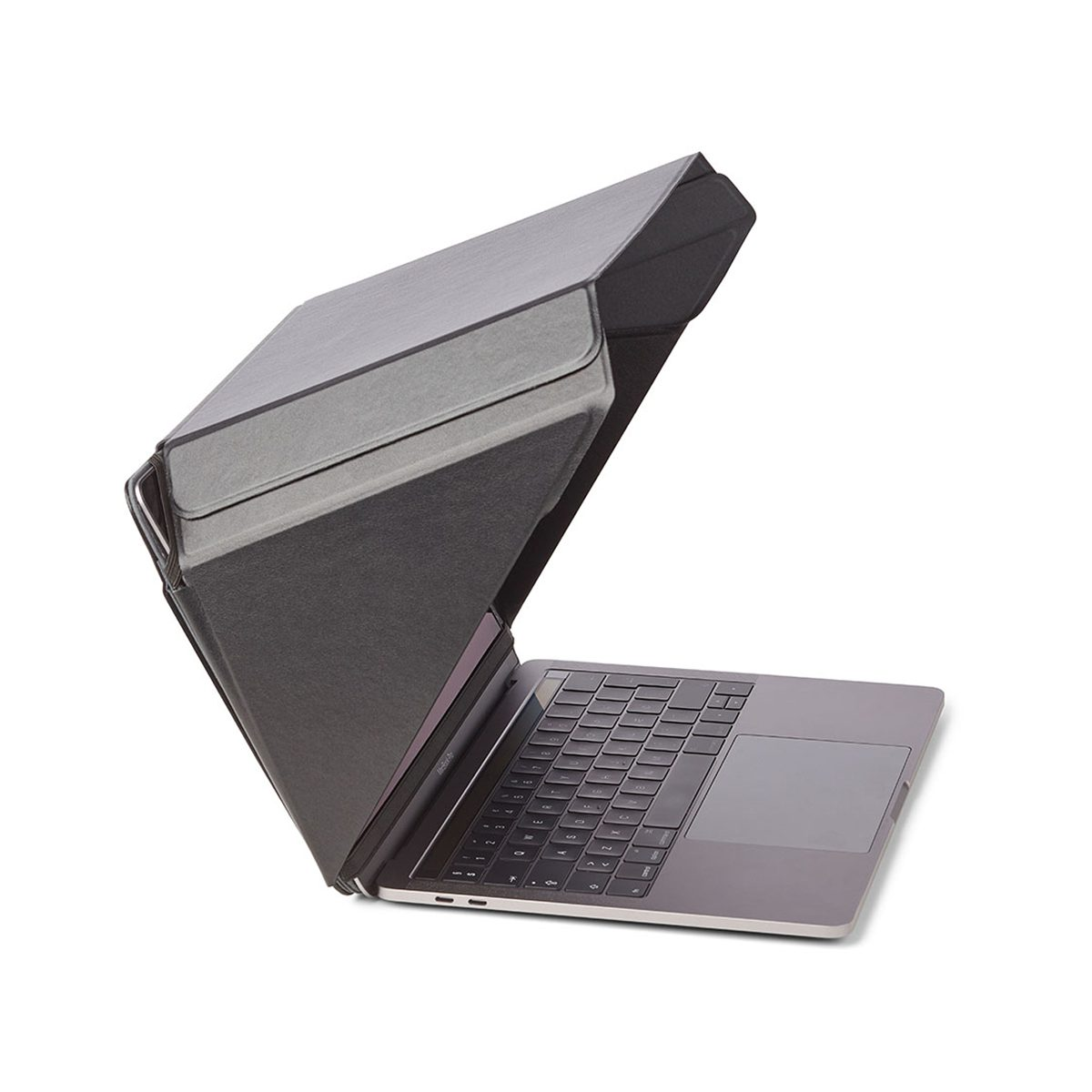 "Image of   Sun Shade and Privacy Hood for 13"" & 14"" laptop with stand and pocket."