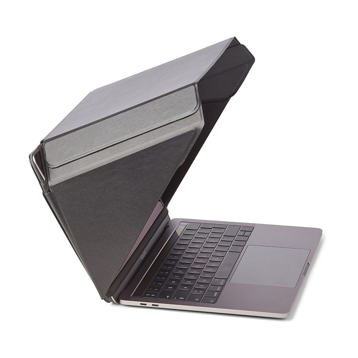 "Image of   Sun Shade and Privacy Hood for 15"" & 16"" laptop with stand and pocket."